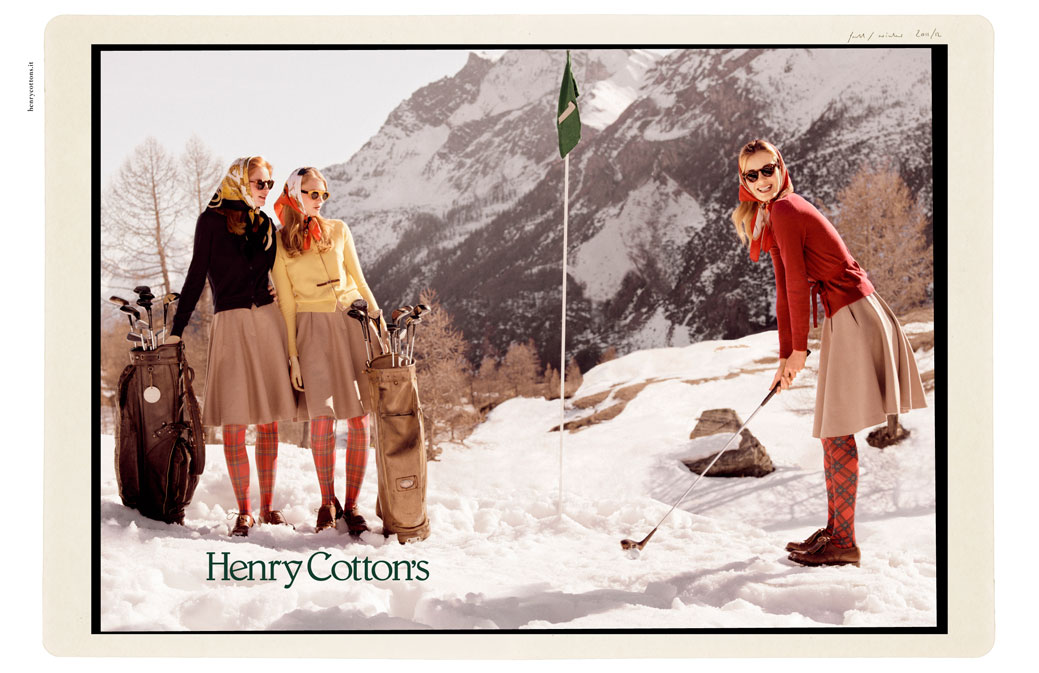 Belgrad Creative Henry Cottons Campaign